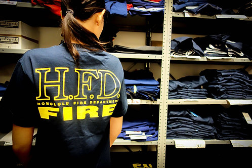 Hawaii Fire Department Shirt (Blue) - Unisex