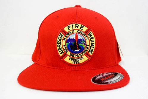 Hawaii County Fire Hat (Red)