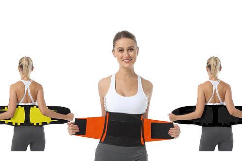 Waist Trainer Belt Men Women  - Waist Cincher Trimmer - Slimming Body Shaper Bel