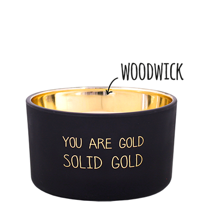 Geurkaars - You are gold - Geur Warm cashmere