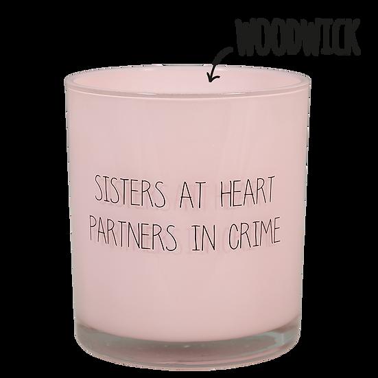 Geurkaars - Sisters at heart - Geur Green tea time