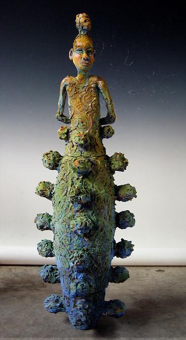 Rosebud, terracotta