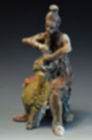 Small Cellist. Carman Moore collection, NYC