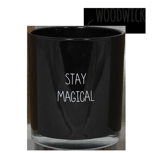 Geurkaars - Stay magical - Geur Warm cashmere