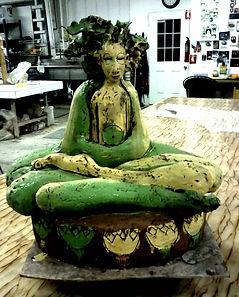 California Maitreya, work in progress