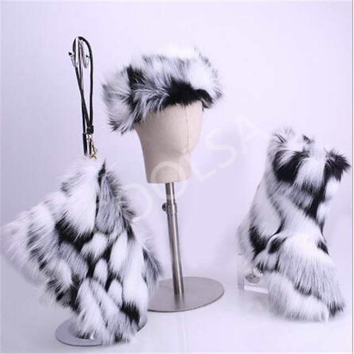 3 Piece Fur Sets