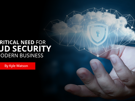 The Critical Need for Cloud Security in Modern Business