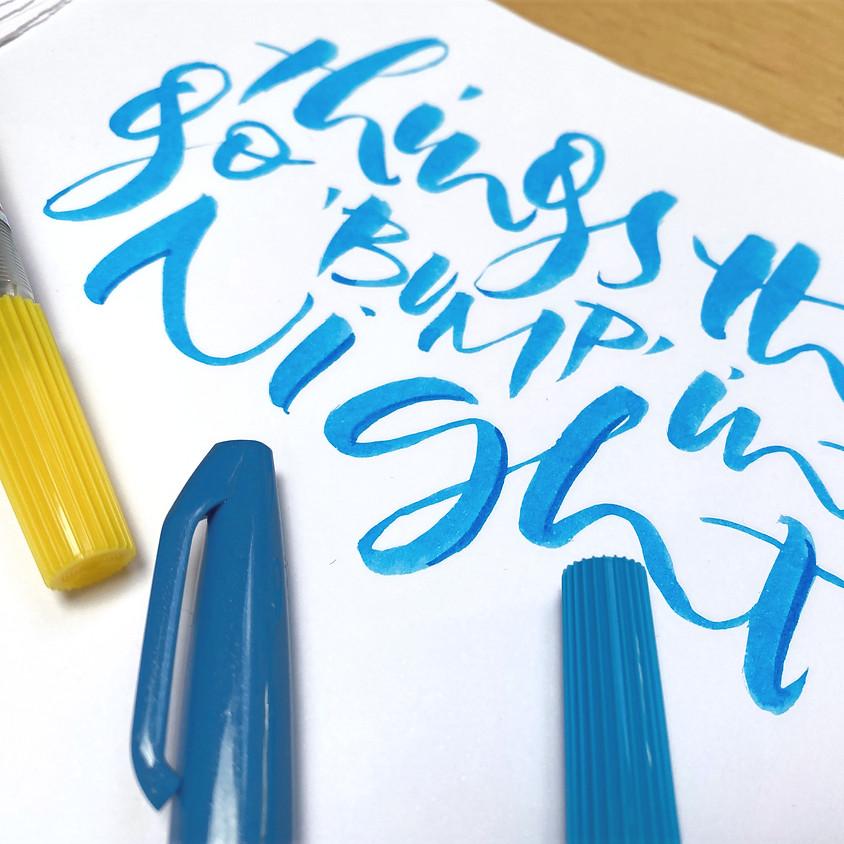 Beginner Brush Pen  - 5 Week Course