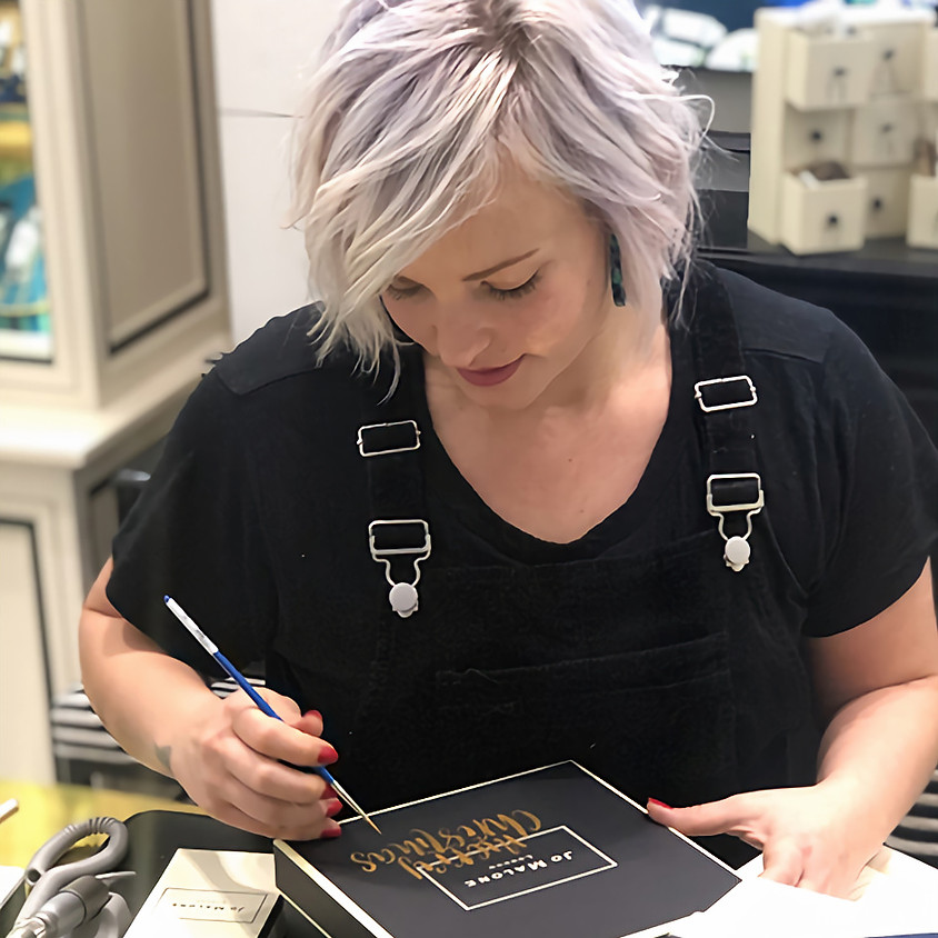 Covent Garden: Building Your Career (Brush Calligraphy) - Masterclass