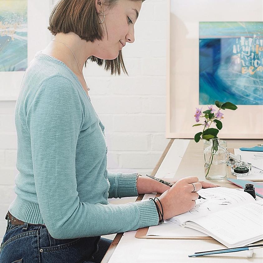 Stroud: Beginners Modern Calligraphy Pointed Nib Workshop - Morning