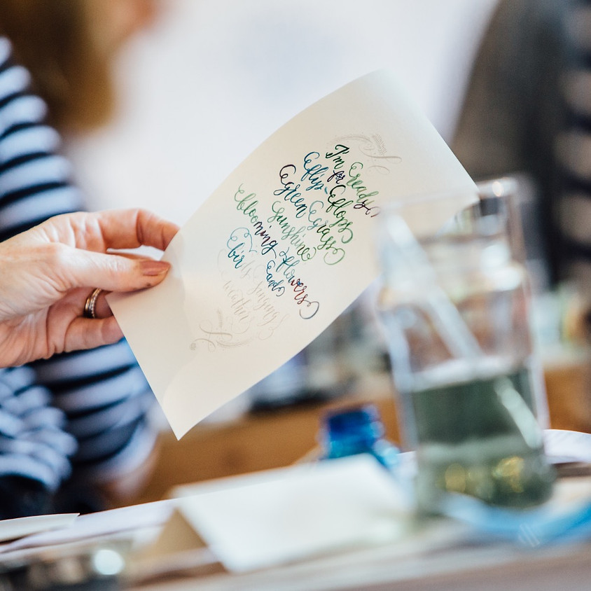 Chichester: Beginners Modern Calligraphy Pointed Nib Workshop - Morning