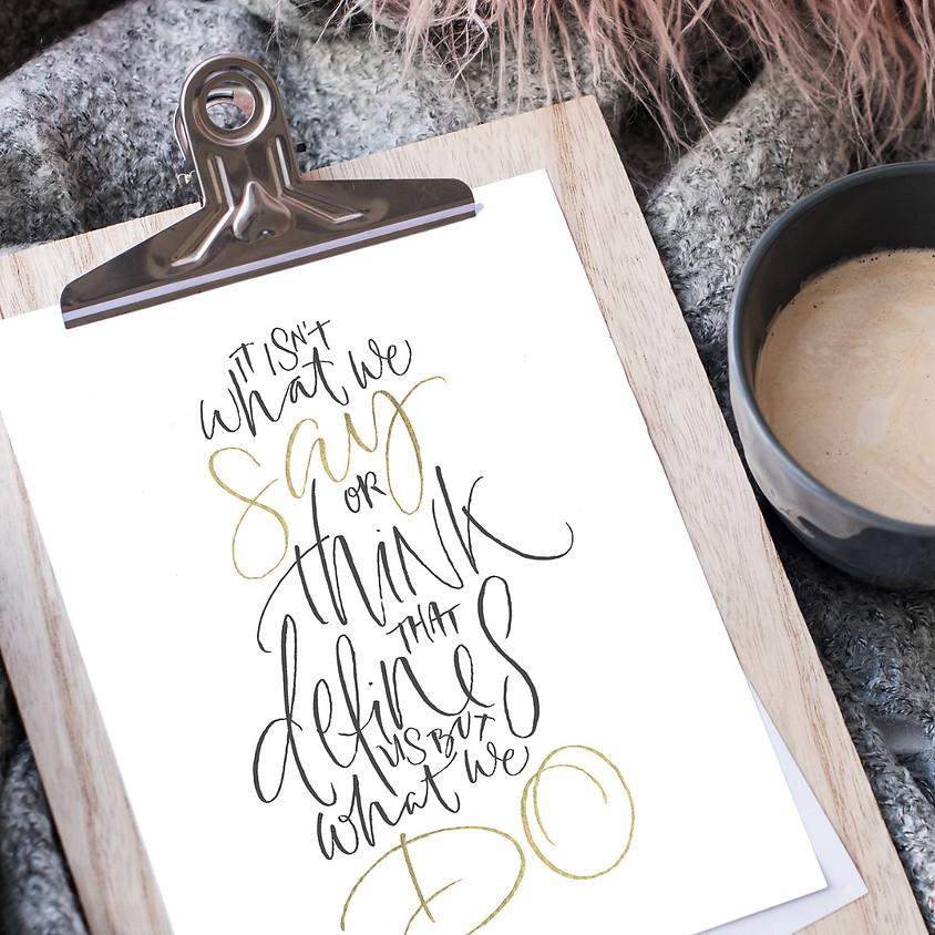 Stroud: Beginners Modern Calligraphy Pointed Nib Workshop - Full Day