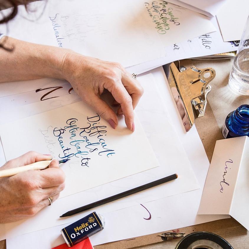 Bradford: Beginners Modern Calligraphy Pointed Nib Workshop - Morning