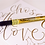 Thumbnail: Pen-Touch Fine Metallic Calligraphy Pen