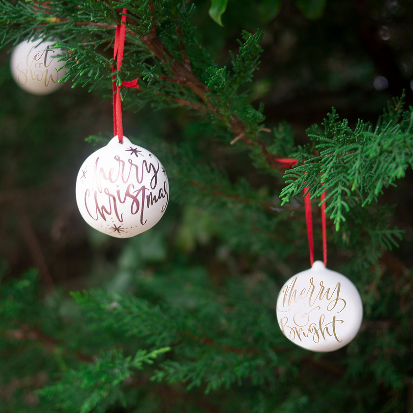 Chichester:  Christmas Bauble Workshop - Morning