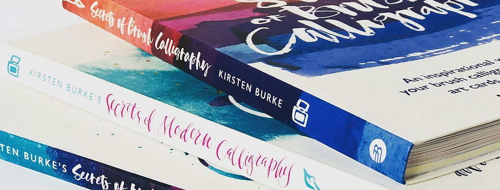 Secrets of Brush Calligraphy Book - Signed Copy