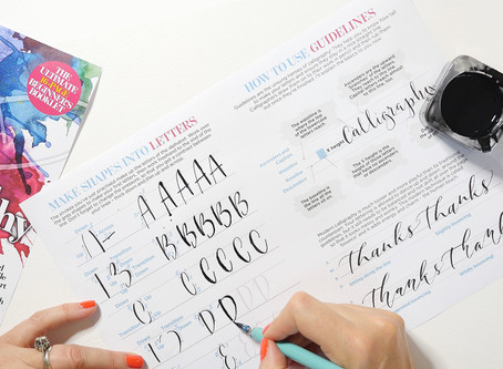 Calligraphy can Combat Anxiety!