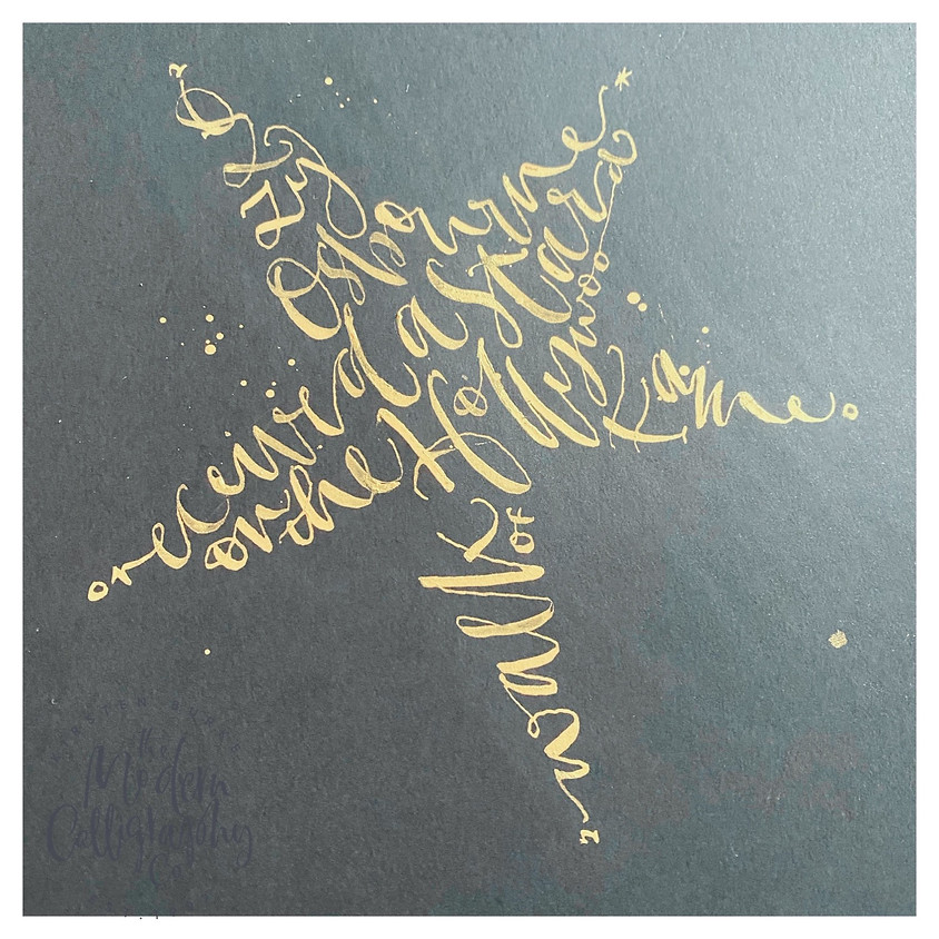 Beyond Beginner Calligraphy, 5 Week - Word, Shapes, Morning