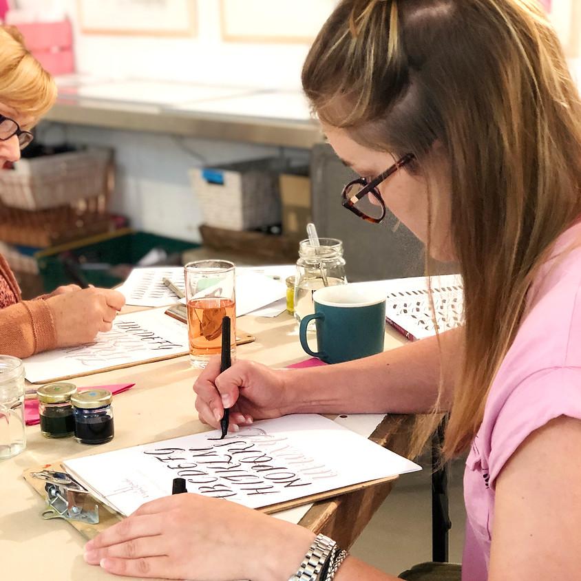 Chichester: Beginners Modern Calligraphy Taster Workshop - Full Day (1)