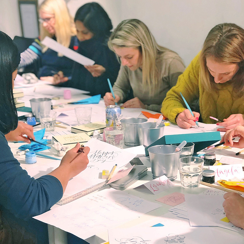 Ipswich: Beginners Modern Calligraphy Pointed Nib Workshop - Morning