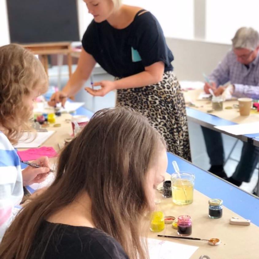 Chichester: Beginners Modern Calligraphy Taster Workshop - Full Day