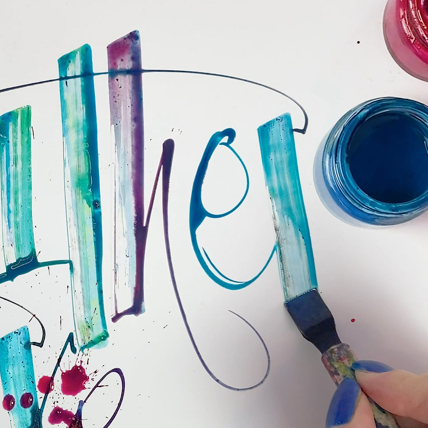 24th May - Automatic Pen, an exclusive livestream workshop with Master Calligrapher Kirsten Burke