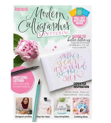 Modern Calligraphy & Lettering Magazine