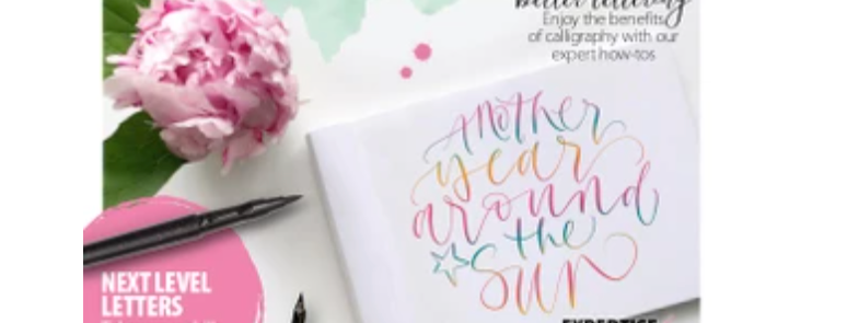 Modern Calligraphy & Lettering Magazine