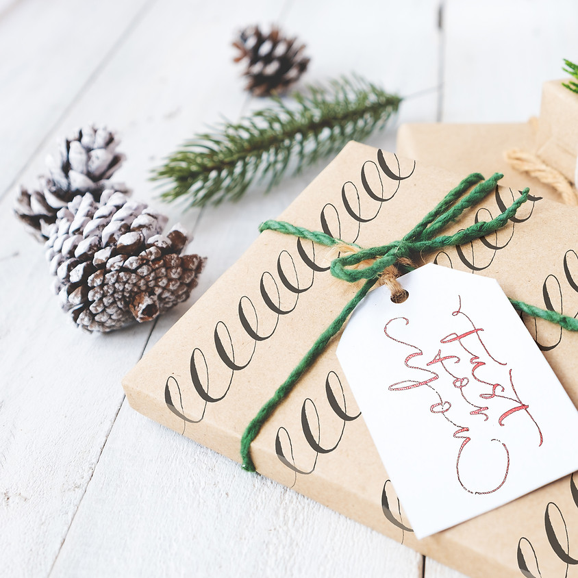 Stroud: Festive Sparkle - Christmas Calligraphy - Morning