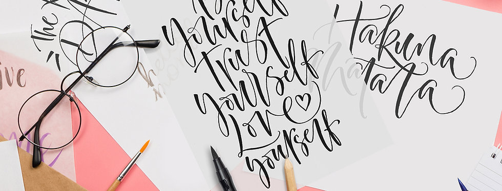 Calming Brush Pen Inspiration