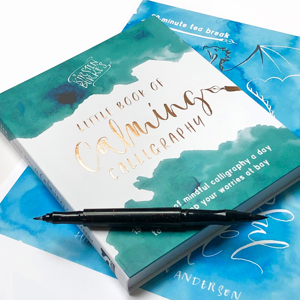 Calming Calligraphy Book