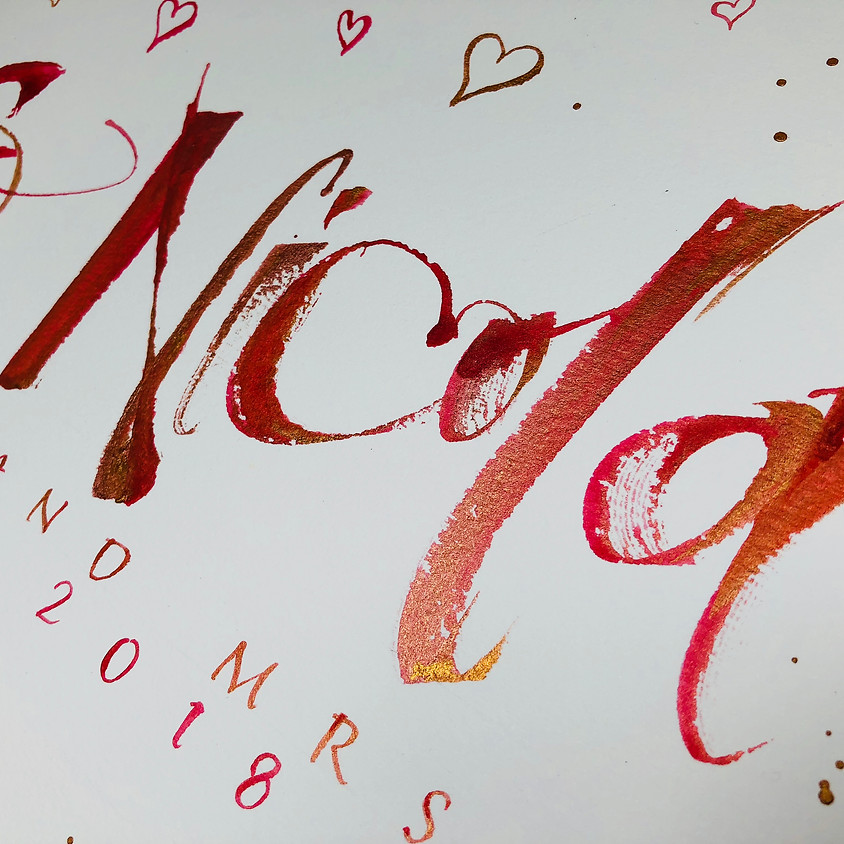 19th May - Automatic Pen with Master Calligrapher Kirsten Burke - Chichester Studio