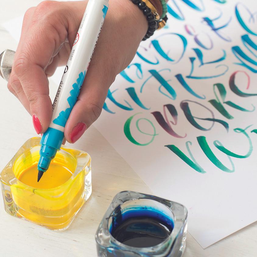 Beginner Brush Pen - Livestream Morning