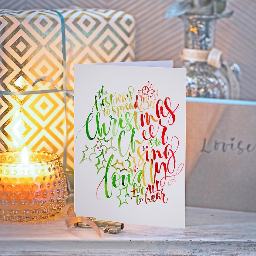 Chichester: Beginners Modern Calligraphy Christmas Brush Workshop - Thursday 14th November 2019 - Evening