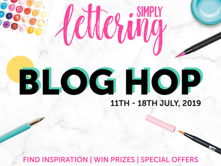 Simply Lettering Issue One 'Blog Hop'