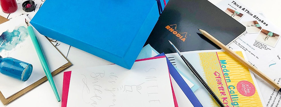 Kid's Modern Calligraphy Starter Kit