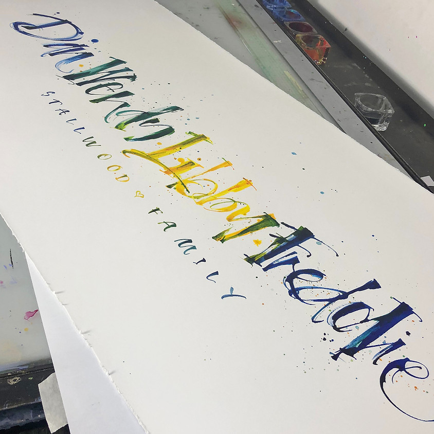 Special Event: Automatic Pen with Master Calligrapher Kirsten Burke - Evening Demonstration