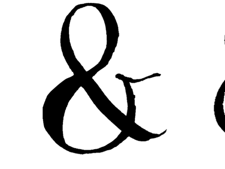 How to write an Ampersand in calligraphy