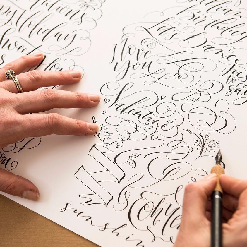 Bristol: Beginners Modern Calligraphy Pointed Nib Workshop - Evening