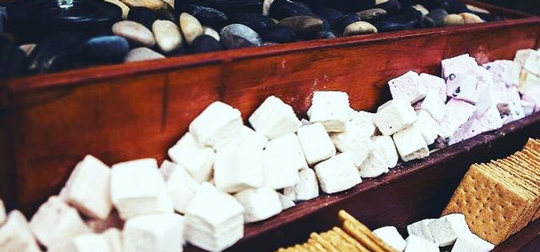 Smore's bar a la Pierre #wedding #pierrescatering #pierrecatering #catering #food #wedding #weddings