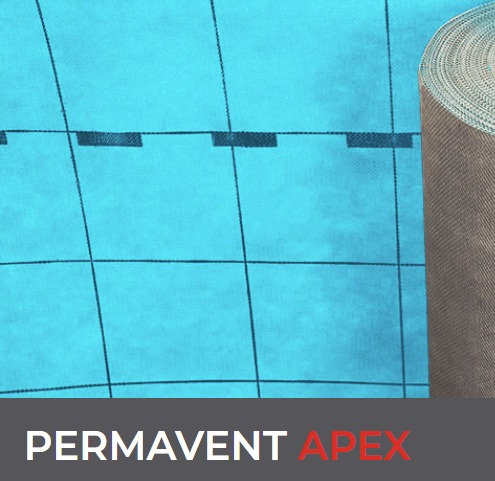 Permavent Apex Air Permeable Underlay 50m x 1m