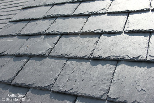 Stoneleaf Celtic Grey Natural Roof Slate 500x375