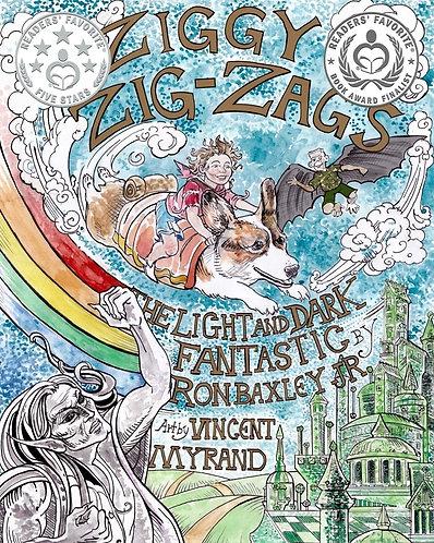 ZIGGY ZIG-ZAGS THE LIGHT AND DARK FANTASTIC, VOLUME 1