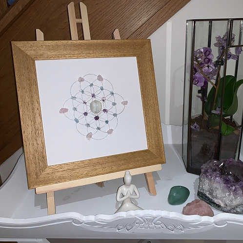 'Baby Bliss' crystal grid