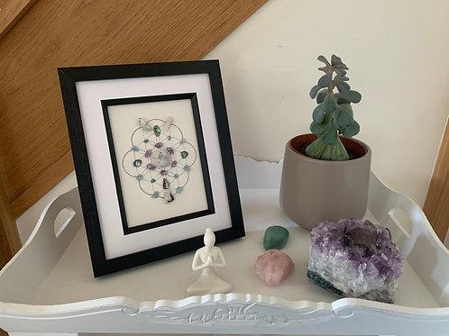 'Moonlight reflection' crystal grid