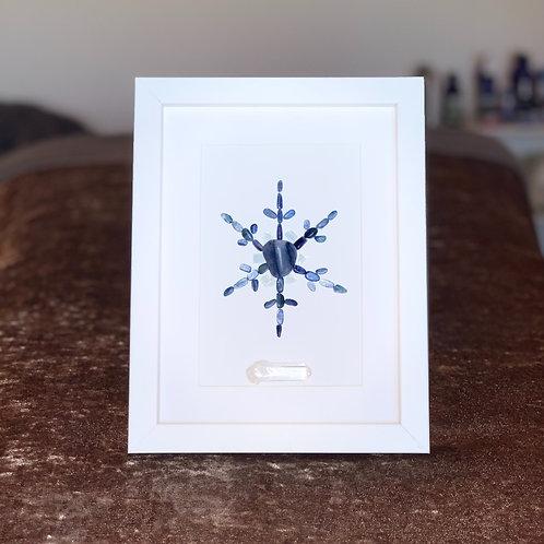 Snowflake framed mini grid
