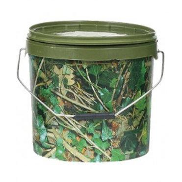 5 Litre Round Camo Bait Bucket