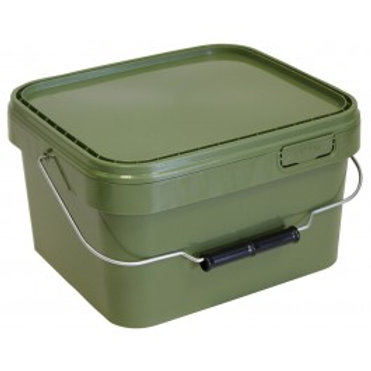 10 Litre Square Green Bait Bucket
