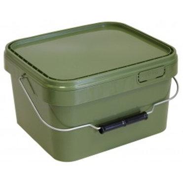 5 Litre Square Green Bait Bucket