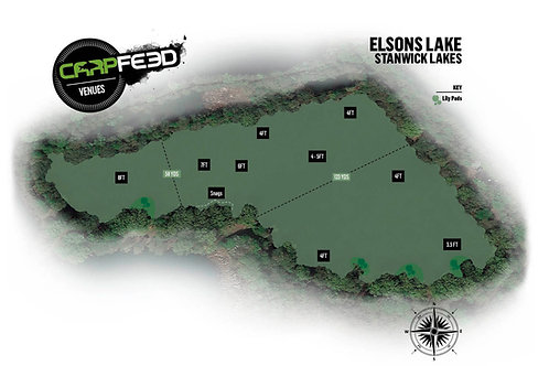 7th - 9th October: Elsons Lake - Stanwick Lakes